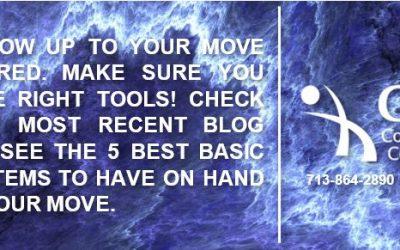 5 Basic Moving Items